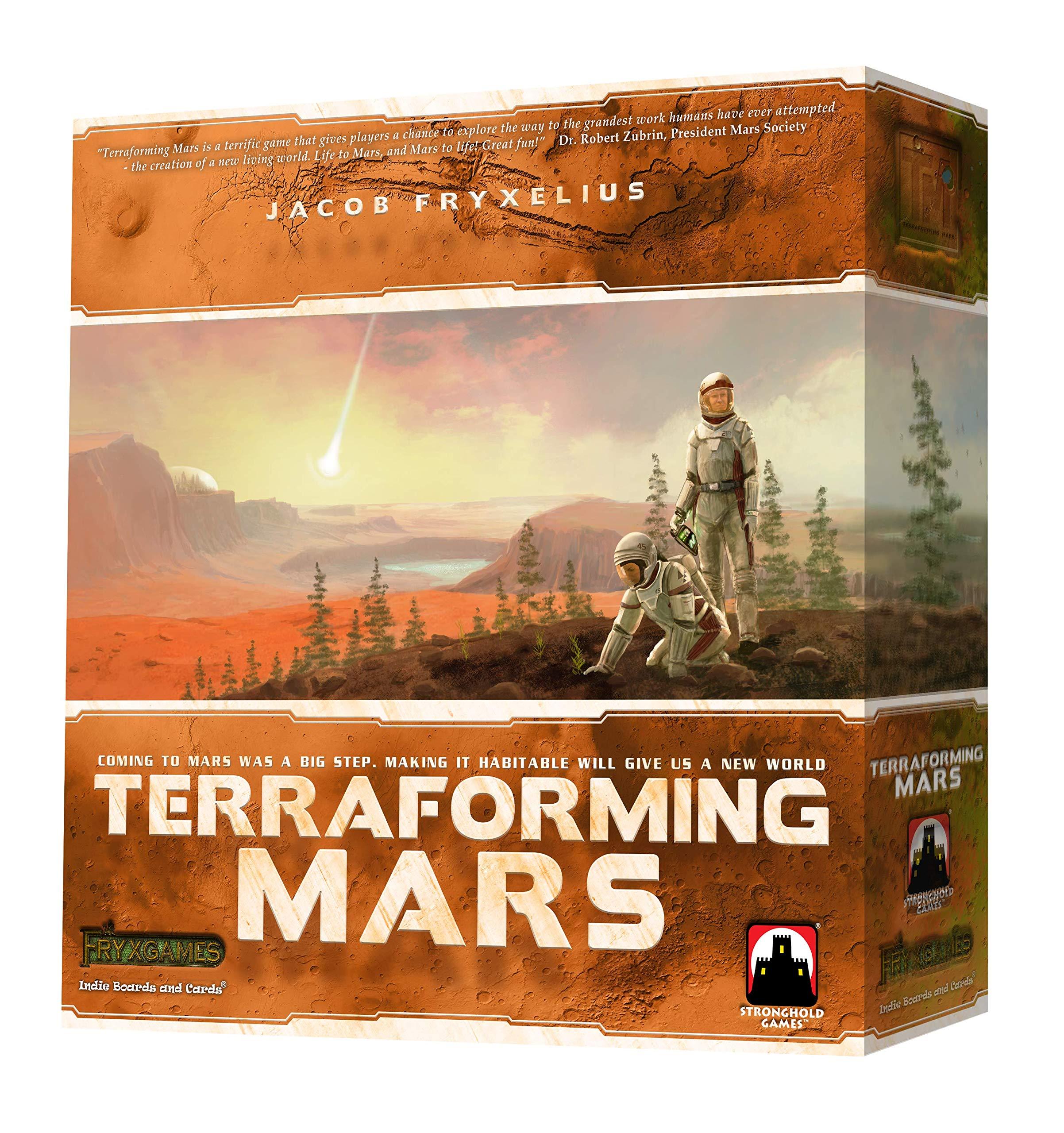 Terraforming Mars 棋盘游戏 144 months to 180 months Basic pack 多色