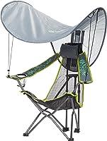 亦适逸 YSY-C008 户外休闲扶手椅 带雨篷2个装(简易折叠省空间,特斯林网布,钢涂层管)