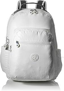 Kipling 凯浦林 Seoul 休闲背包,44 厘米 White (White Metallic) White (White Metallic)