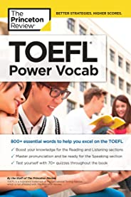 TOEFL Power Vocab: 800+ Essential Words to Help You Excel on the TOEFL (College Test Preparation) (English Edition)