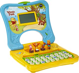 VTech 偉易達 80 – 069104 – 學習計算機 維尼小熊 ABC筆記本電腦,不同顏色分類,顏色不可選