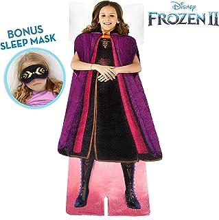 Blankie Tails 冰雪奇缘 2 安娜可穿戴毛毯,带*眼罩