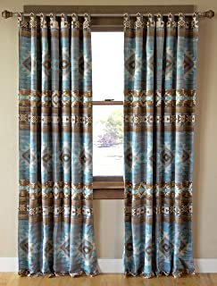 Carstens, Inc. Mesa Daybreak 窗帘,蓝色