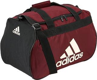 adidas Diablo 小号行李袋,黑色/蝎子色/亚麻