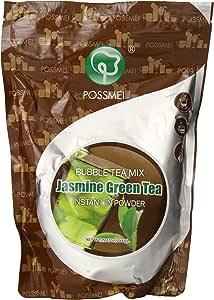 Possmei Bubble Tea Mix Instant Powder, Jasmine Green Tea, 2.2 Pound