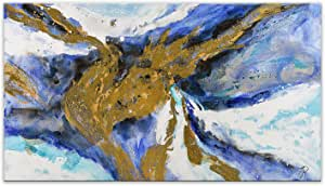 World Art TW60121 绘画装饰拉伸器抽象,木质,85x150x3.5 厘米