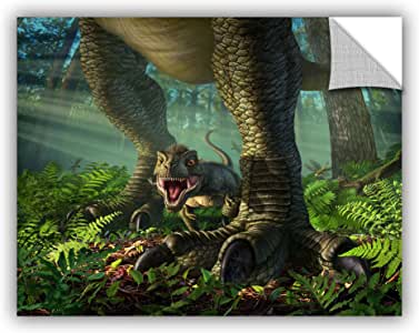 """ArtWall ArtWall Jerry Lofaro Wee Rex Appeelz Removable Graphic, 18 by 24"""""""