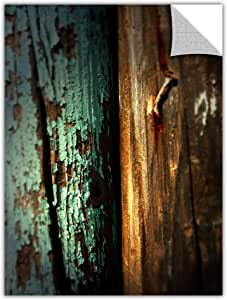 "ArtWall Art Appealz ""Wood and Nail"" Removable Wall Art Graphic by Mark Ross, 18 by 24-Inch"