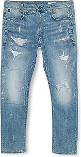 G-STAR RAW 男式 D-STAQ 3D 紧身牛仔裤