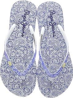 Pepe Jeans 女孩沙滩全身夹趾拖鞋