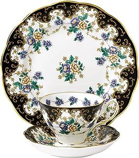 Royal Albert茶杯三件套 茶碟&盘子&茶杯 8英寸 多色