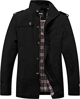 Wantdo 男士立领棉质经典夹克