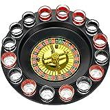 Shot Glass Roulette - Drinking Game Set 红色/黑色