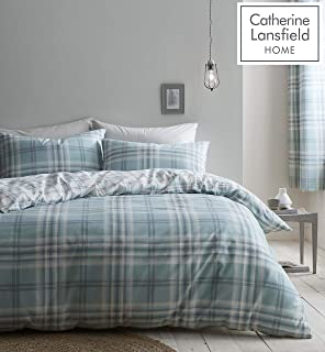 Catherine Lansfield Kelso 双人床床上用品,涤纶,薄荷色
