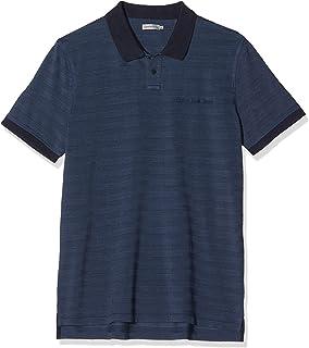 Calvin Klein Jeans 男式细长修身马球衫