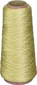 DMC 线六股刺绣棉线圈 100 克锥体 Yellow Beige Light 5214-3047