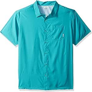 Columbia 男士 Slack Tide Camp 衬衫 X大码 蓝色 1577051-354