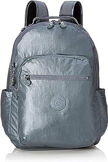 Kipling 凯浦林 Basic Plus 学生背包,44厘米 Grey (Steel Gr Metal) Grey (Steel Gr Metal)