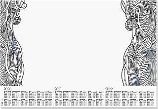 Sigel HO450 书写垫 再生纸 2019-2021 Design Relax zu Ausmalen