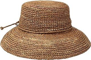 San Diego Hat Company 女士钩针拉菲亚帽