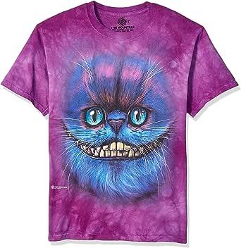 The Mountain Bf 柴郡猫儿童 T 恤,紫色,L 码