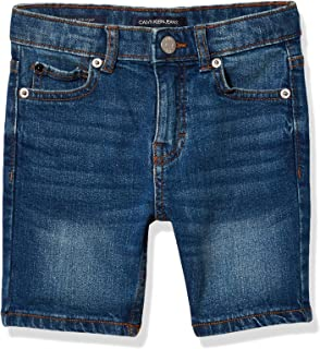 Calvin Klein 男童弹力牛仔短裤