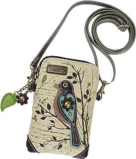 Chala Safari Bird Cellphone Crossbody Handbag - Convertible Strap