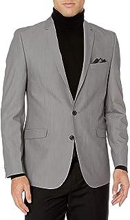 Billy London 男式修身西装(外套、裤子和背心)