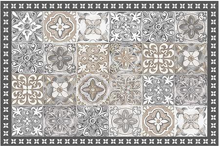 Déco Tapis 矩形地毯 50 x 75 cm Alicante 乙烯基自然色