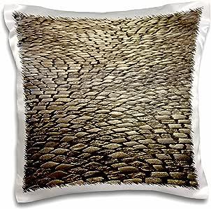 3drose danita delimont–图案–法国, aquitaine , st-emilion , coblestone 图案–eu09wbi2838–Walter bibikow–绘图本枕套