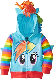 My Little Pony 女童 Rainbow Dash 连帽衫