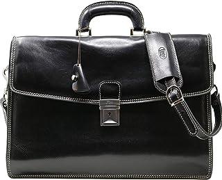 Floto Luggage Milano Brief Attache 黑色 均码
