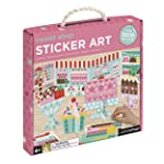 Petit Collage Mosaic 贴纸艺术套件,含 1000 多个贴纸 Sweet Shop