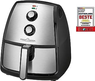 Profi Cook PC-FR 1115 H 不锈钢热空气炸锅 3.5 升容量 无档调节恒温器 定时器 1500W