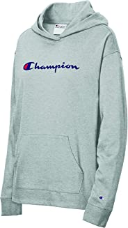 Champion 女式重量级针织套头连帽衫