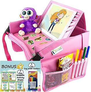 Beloved Belongings 幼儿汽车座椅旅行托盘 粉红色