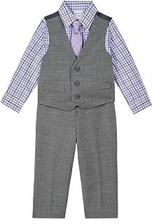 Van Heusen 男婴条纹背心套装