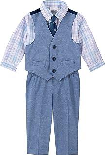Van Heusen 男婴 4 件套正装背心套装