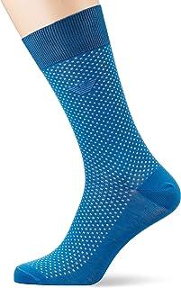 Emporio Armani 安普里奥·阿玛尼 男士 Pinpoint Super Fine Lisle 纱线短袜