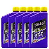 ROYAL PURPLE 紫皇冠 HPS全合成机油 5W-30 946ml*5 SL(Synerlec润滑油添加剂技术 增大油膜强度 更加抗磨 )