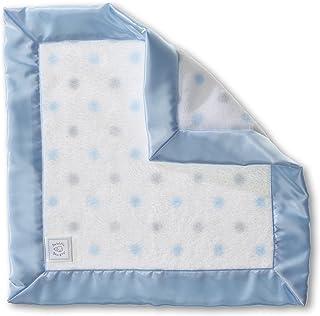SwaddleDesigns婴儿乳房,标准圆点*毯 淡蓝色