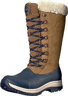 Muck Boot Arctic Après 高筒橡胶及皮革系带女士冬季靴
