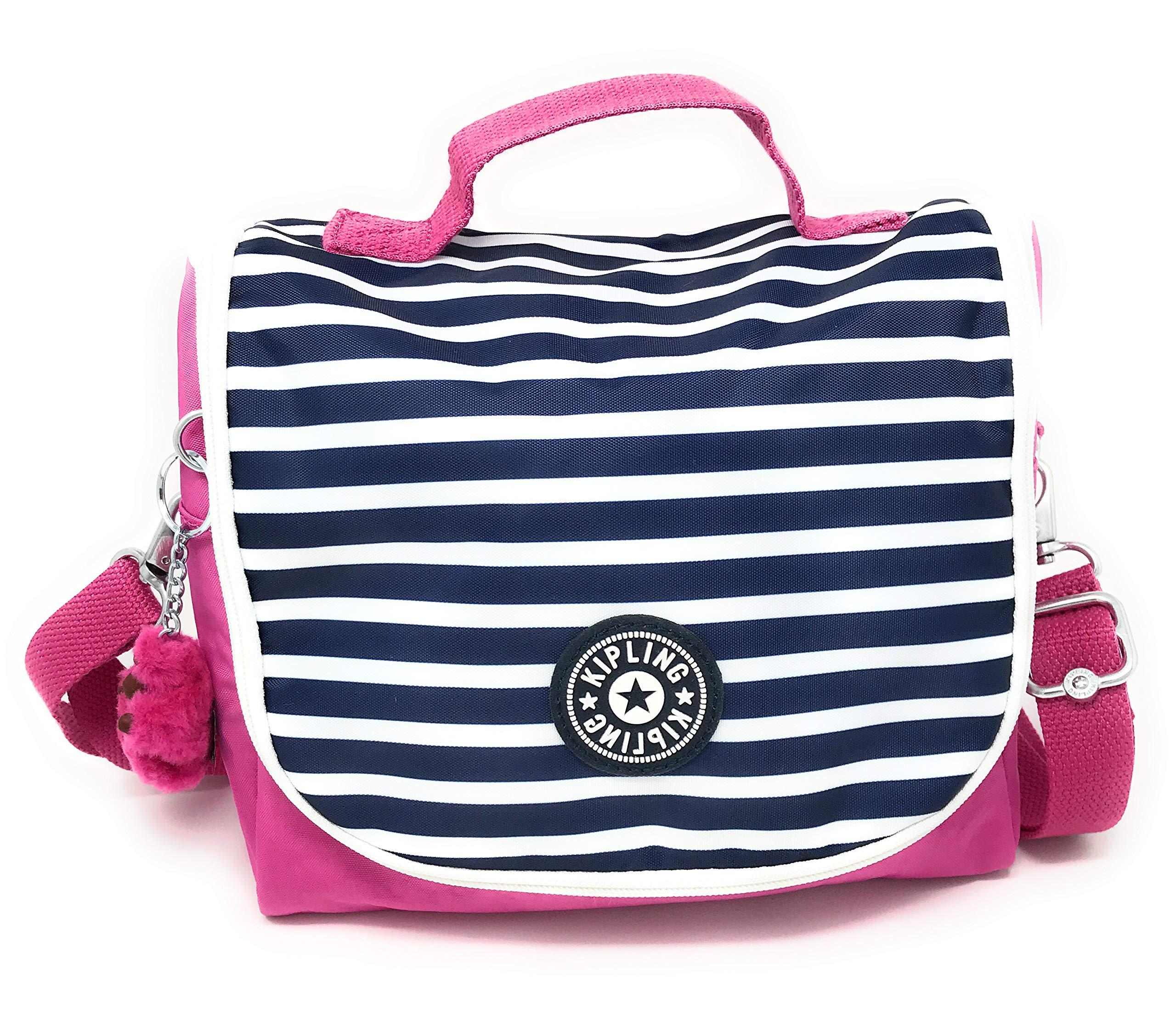 Kipling Kichirou Insulated Lunch Bag, Removable, Adjustable Crossbody Strap, Zip Closure