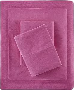 棉质混纺针织床单套装