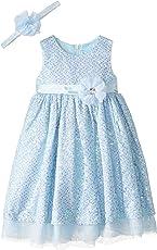 迪士尼女孩仙蒂公主角色扮演连衣裙带配套头