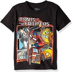 Transformers Boys' Vintage Tee