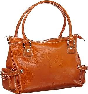 Floto Monticello Handbag 橙色 均码