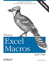 Writing Excel Macros with VBA: Learning to Program the Excel Object Model Using VBA (English Edition)