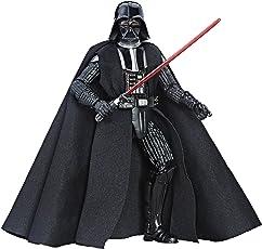 "Star Wars Series Darth Vader Action Figure, Black, 6"""