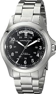 Hamilton Men's H64455133 Khaki King II Black Dial Watch